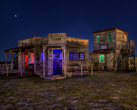 Tri- Color Ghost Town